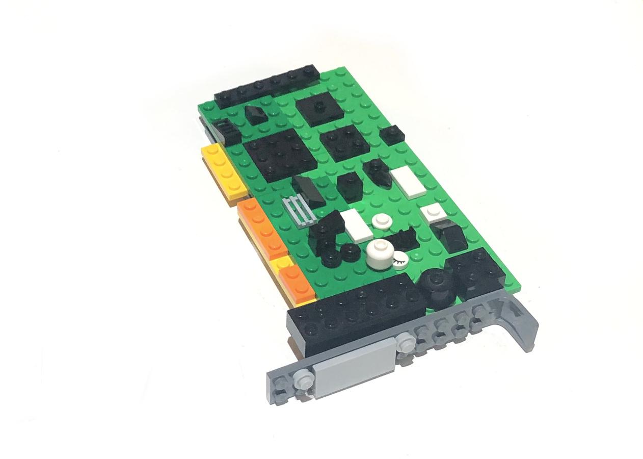Sound Blaster Pro 2 aus Lego