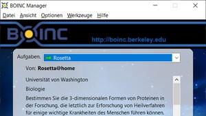 Rosetta@home: Aktive Nutzer durch Kampf gegen Coronavirus verdoppelt