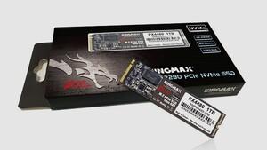 SSD mit PCIe 4.0: Kingmax PX4480 beschleunigt auf 5 GB/s