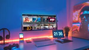 Plasma Bigscreen: KDE bringt den Linux-Desktop auf den Fernseher