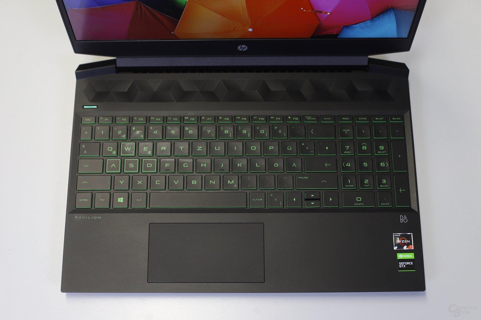 Das HP Pavilion Gaming 15 mit Ryzen 7 3750H und GeForce GTX 1660 Ti im Test