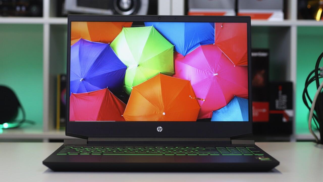 HP Pavilion Gaming 15 im Test: Günstiges Notebook mit Ryzen und GeForce GTX für Spieler