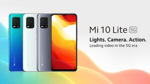 Mi 10 Lite 5G: Xiaomi bringt günstigstes 5G-Smartphone für 349Euro