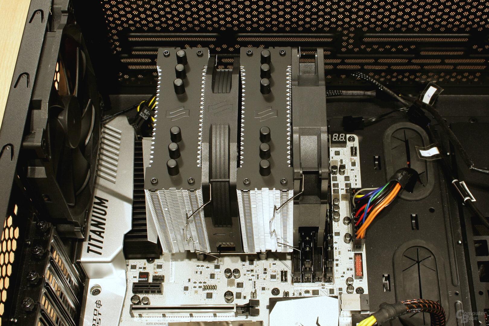 SilentiumPC Grandis 3: RAM wird vom 120-mm-Lüfter überragt