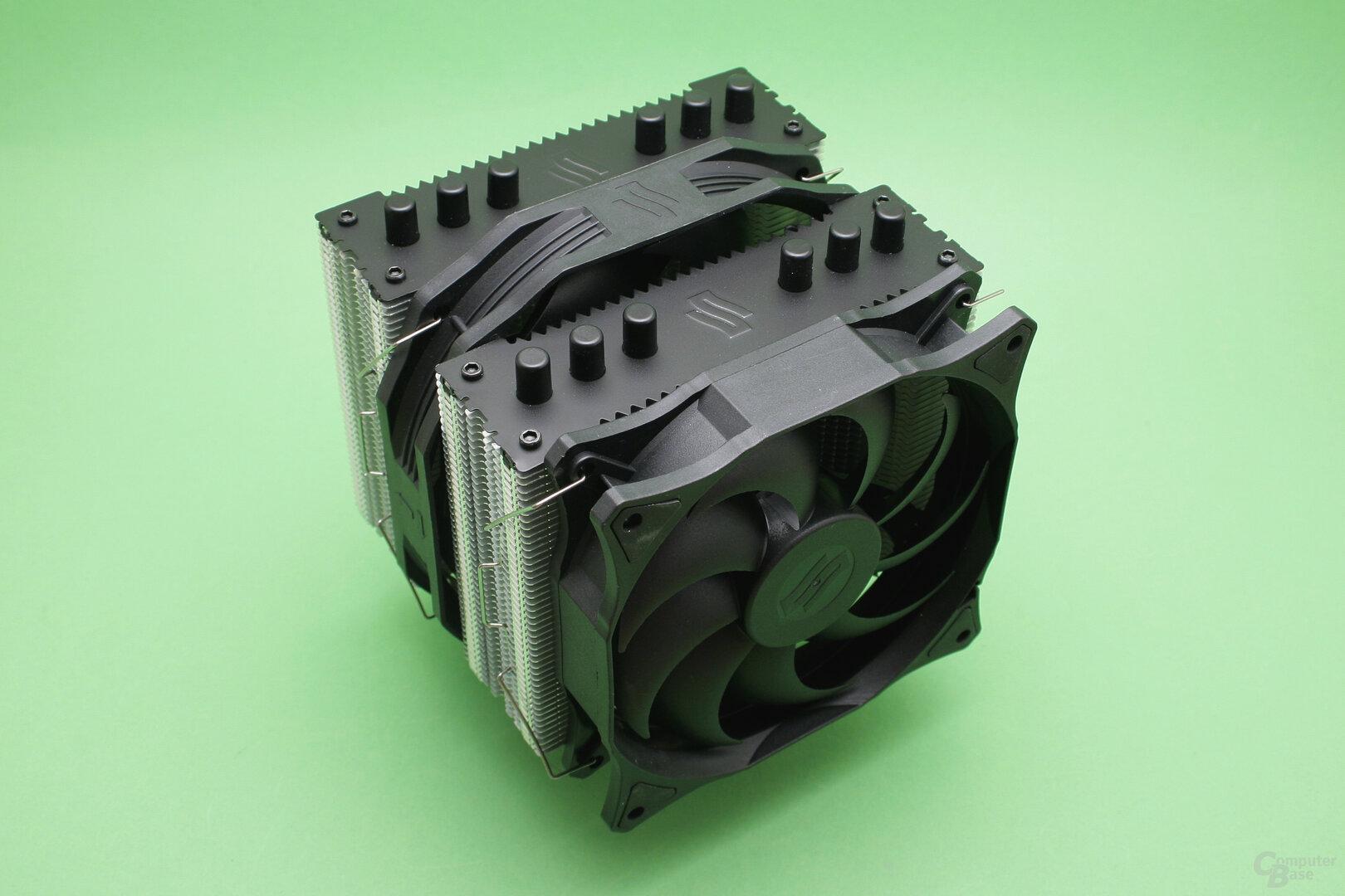 SilentiumPC Grandis 3: Doppelturm-Luftkühler in dritter Generation