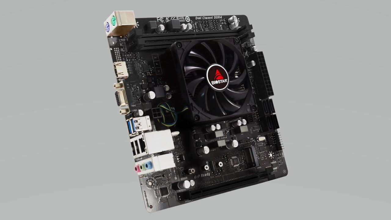 Mainboards mit AMD FX-9830P: Biostar legt zwei Platinen in Mini-ITX und mATX auf