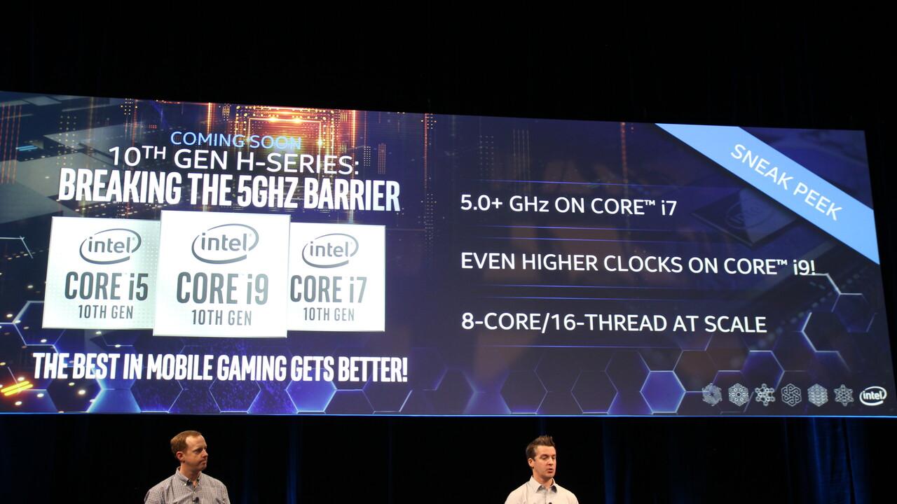 Intel Comet Lake-H: Sechs Prozessoren in Konkurrenz zu AMD Renoir