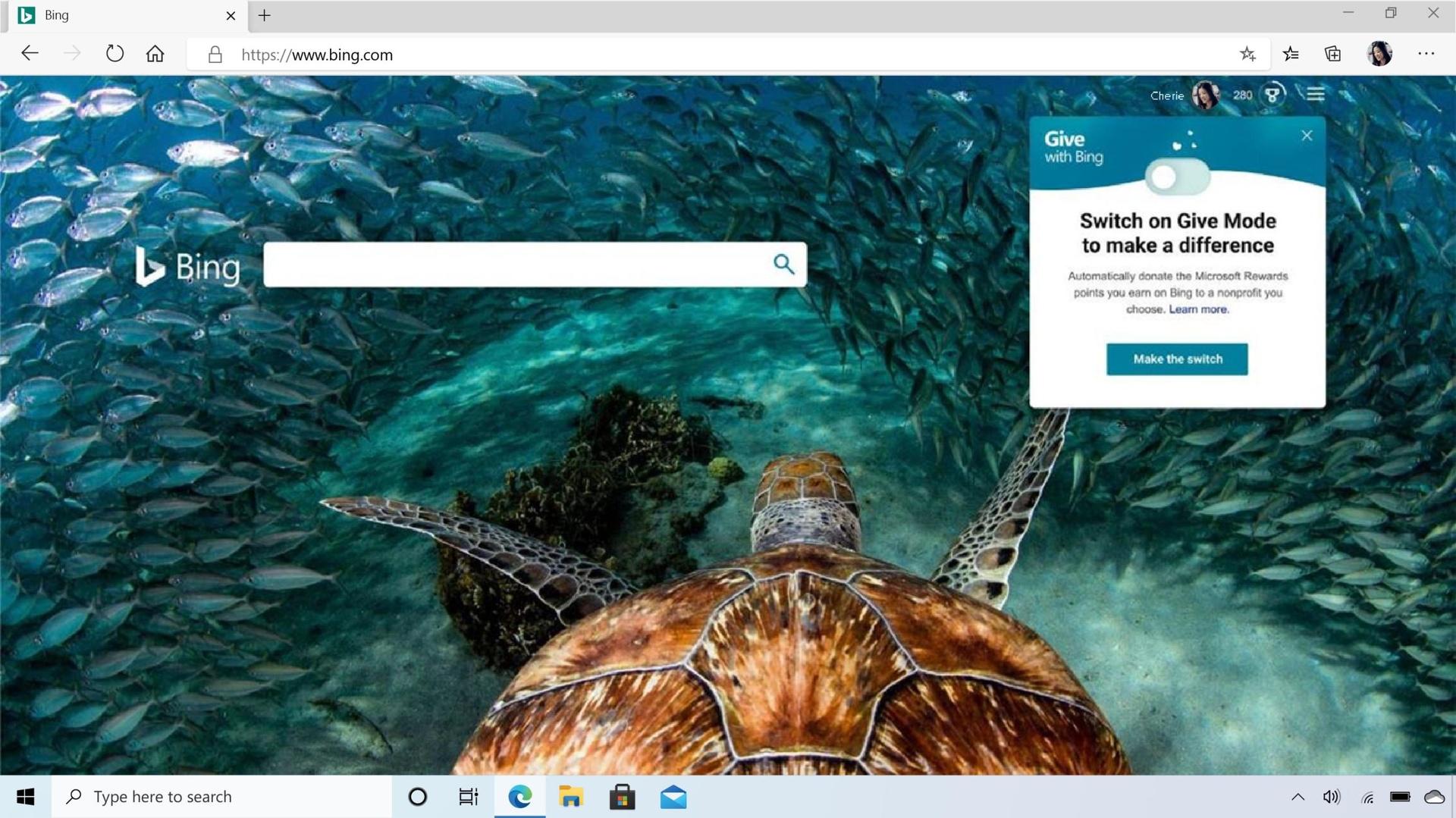 Bing sammelt auf Wunsch zukünftig Spenden für Nichtregierungsorganisationen