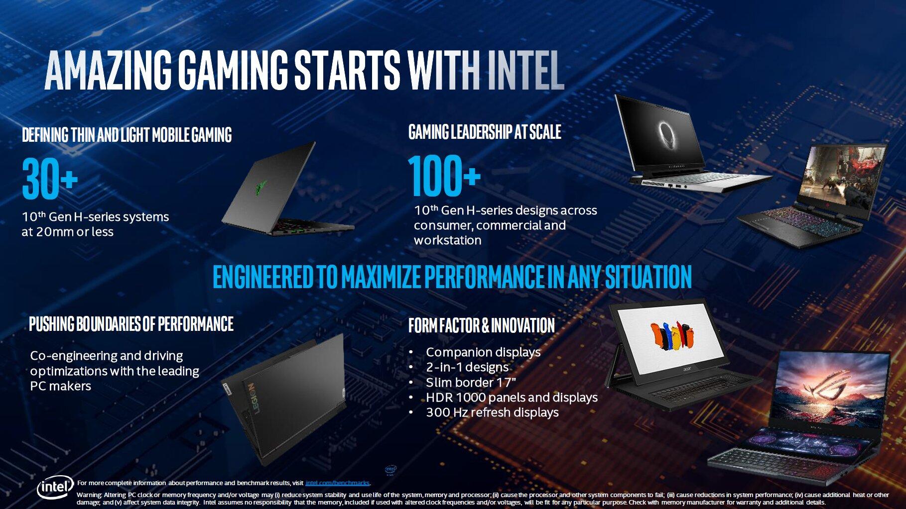 Neue Intel-Notebooks