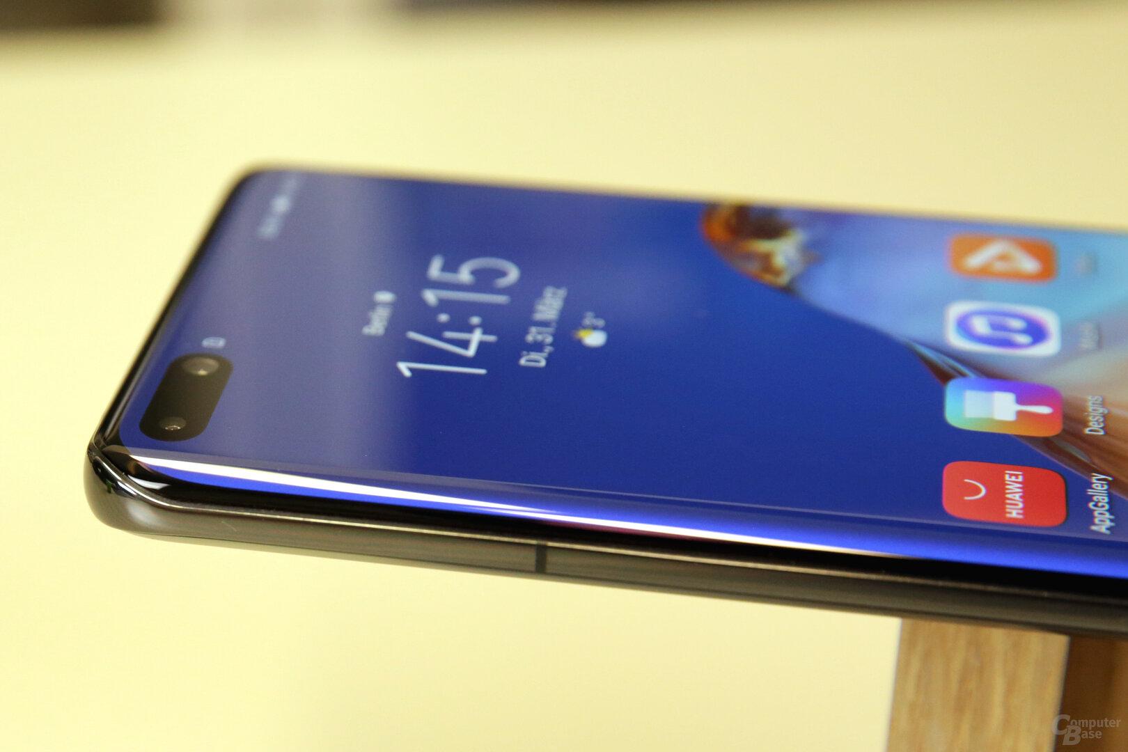 Huawei krümmt das Display nicht nur am linken und rechten Rand