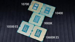 Intel Comet Lake-S: Mainstream-Modelle treten gegen AMD Ryzen5 und 7 an