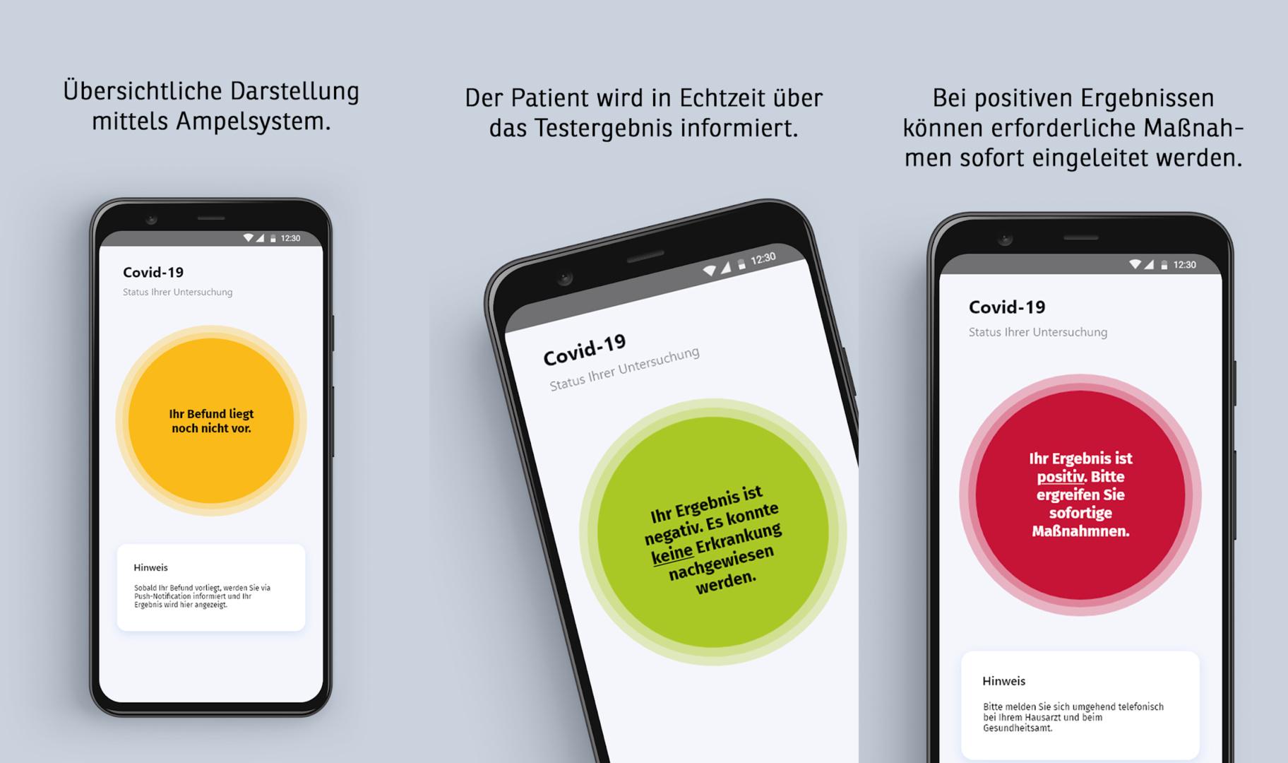 Die Corona-App der Deutschen Telekom soll schnellere Testergebnisse liefern