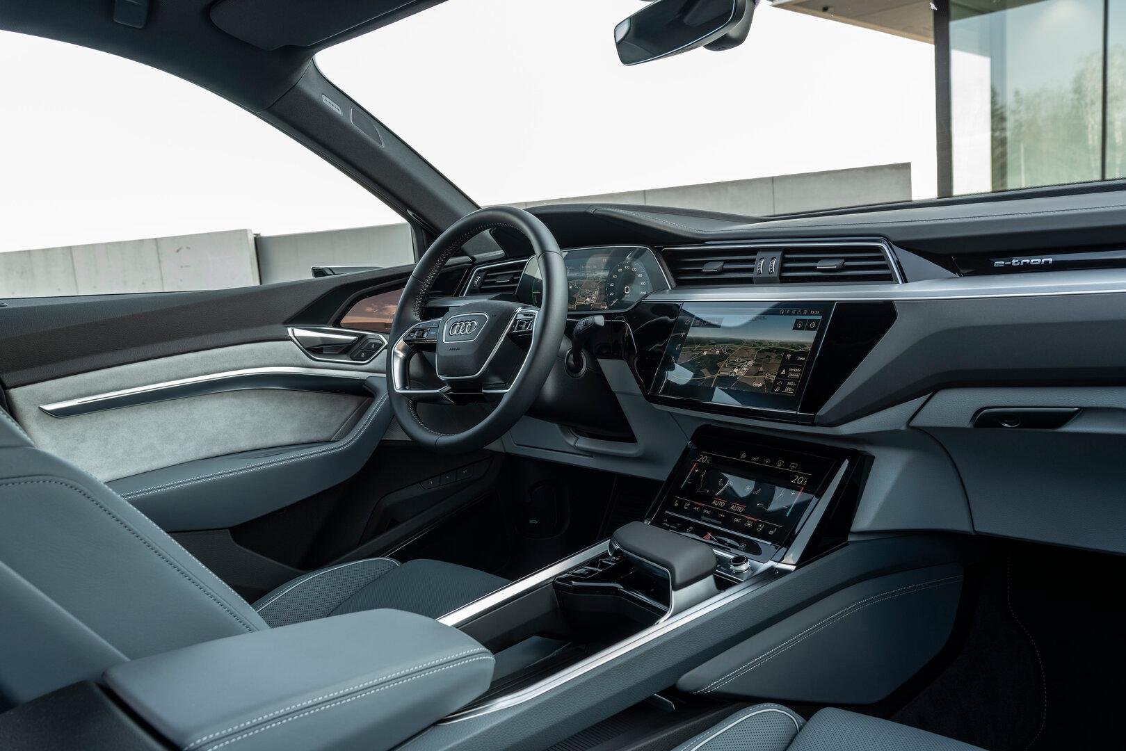 Audi e-tron Sportback (Interieur)