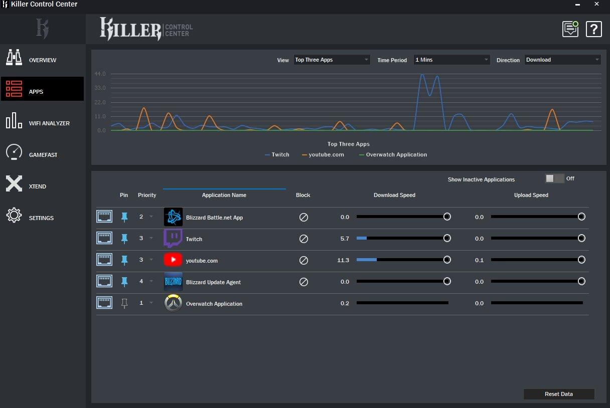Killer Control Center 2.0