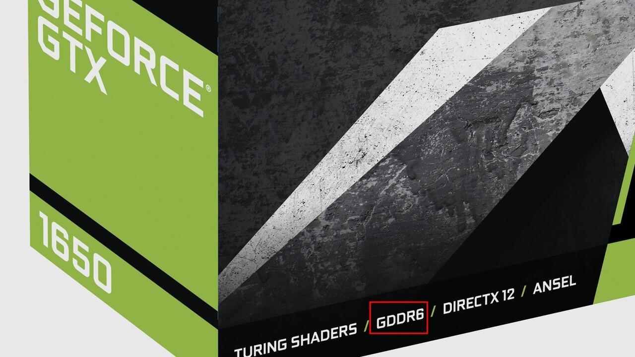 GeForce GTX 1650: GDDR6-Neuauflage ersetzt GDDR5-Version auch bei uns
