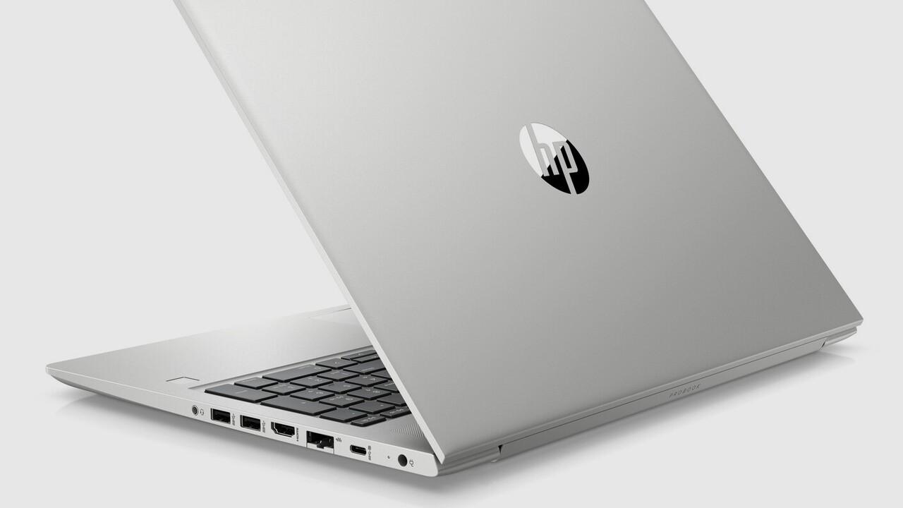HP ProBook 455/445 G7: Business-Notebooks mit AMD Ryzen 4000 (Renoir)