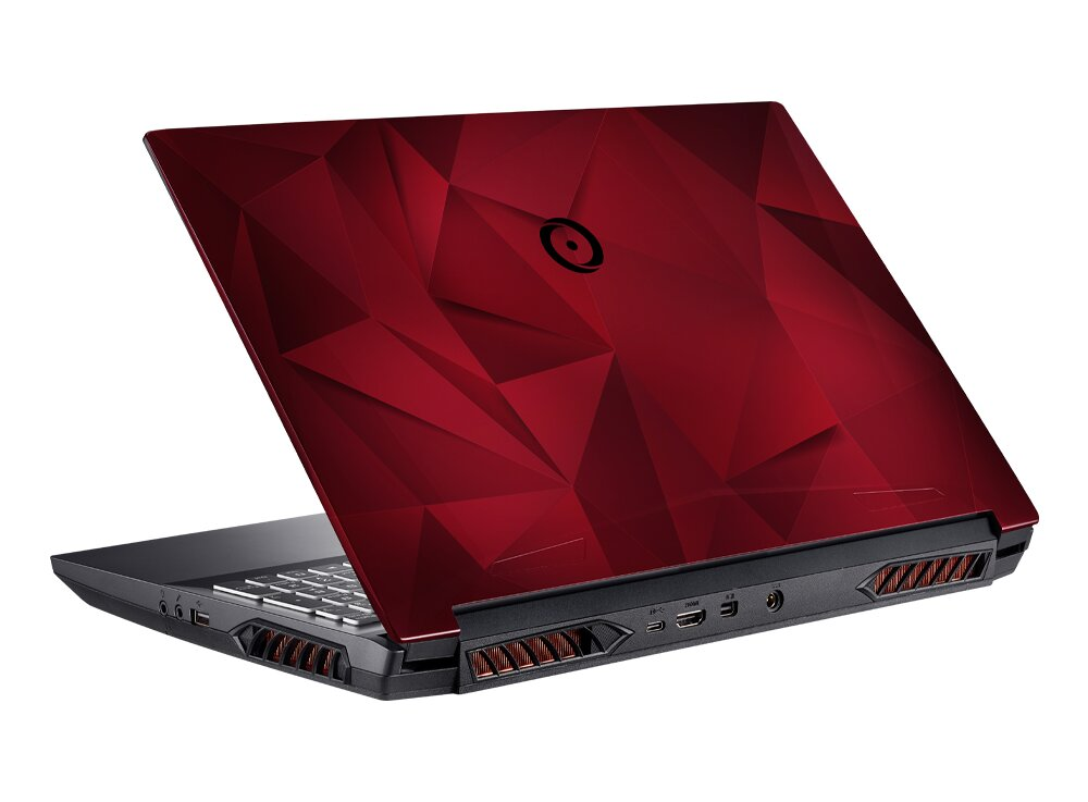 Origin PC EON15-X – Display-Cover Rot (Low Poly Red)