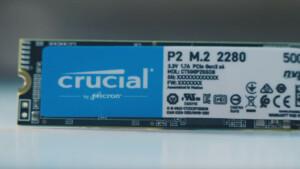 Crucial P2: Neue M.2-NVMe-SSDs der günstigen Sorte