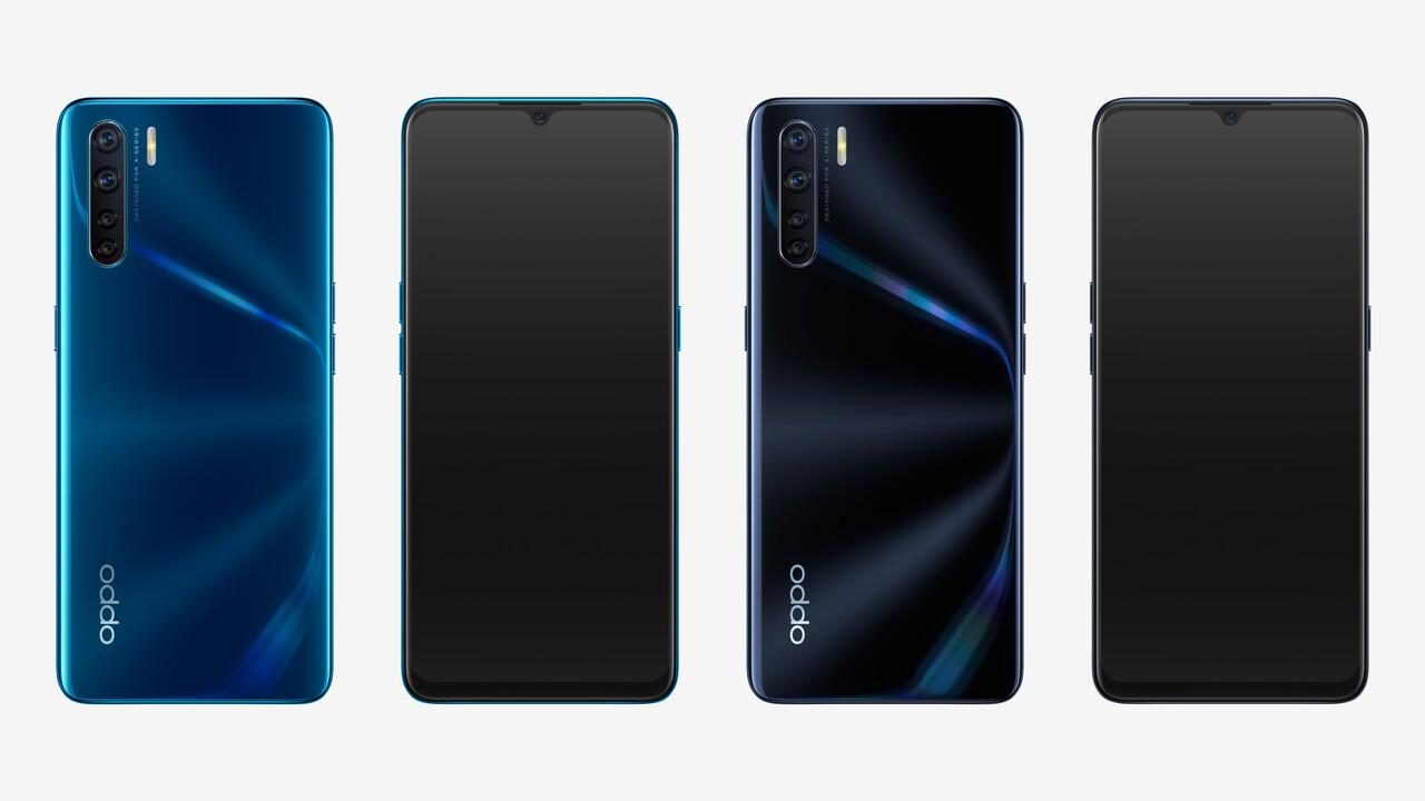 Oppo A91: Einsteiger-Smartphone mit vier Kameras für 300Euro