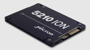 Micron 5210 ION SSD: Neues 960-GB-Modell und neue Firmware