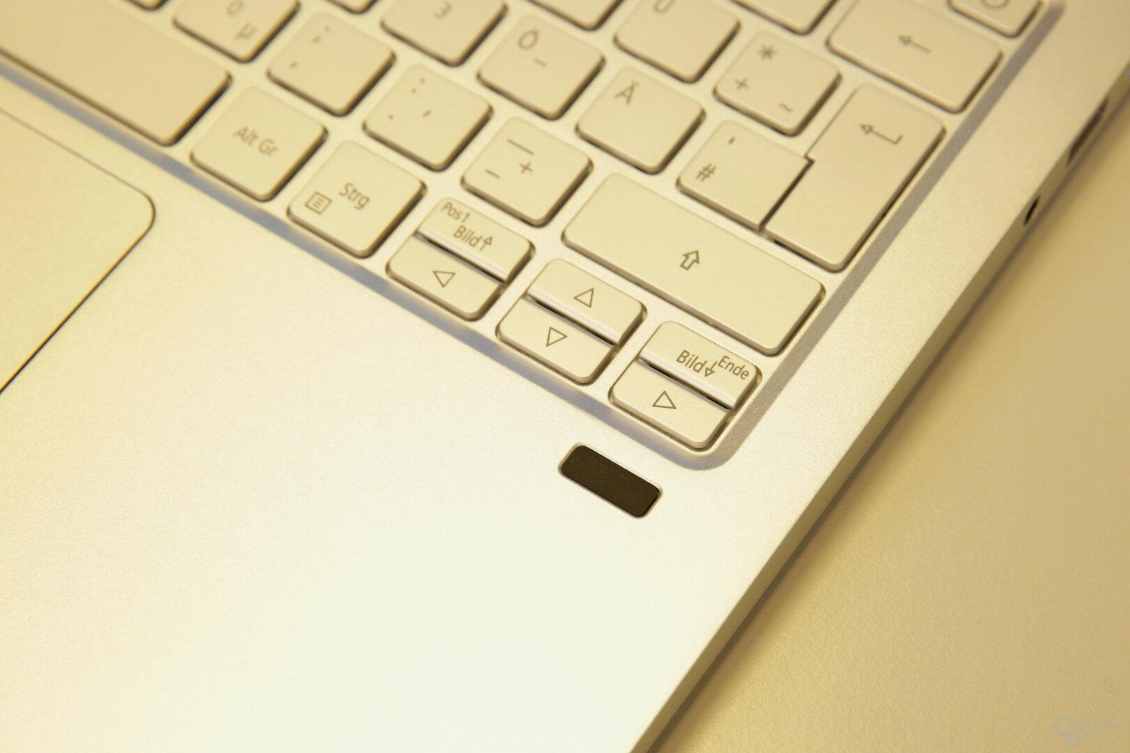 Kleiner, aber sehr zuverlässiger Fingerabdrucksensor