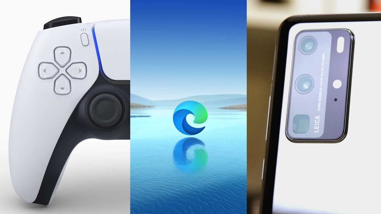 Wochenrück- und Ausblick: P40 Pro, Sonys PS5-Controller und Edge diese Woche vorn
