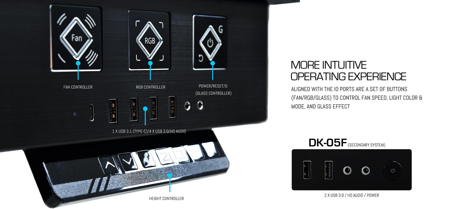 Lian Li DK-04F & DK-05F
