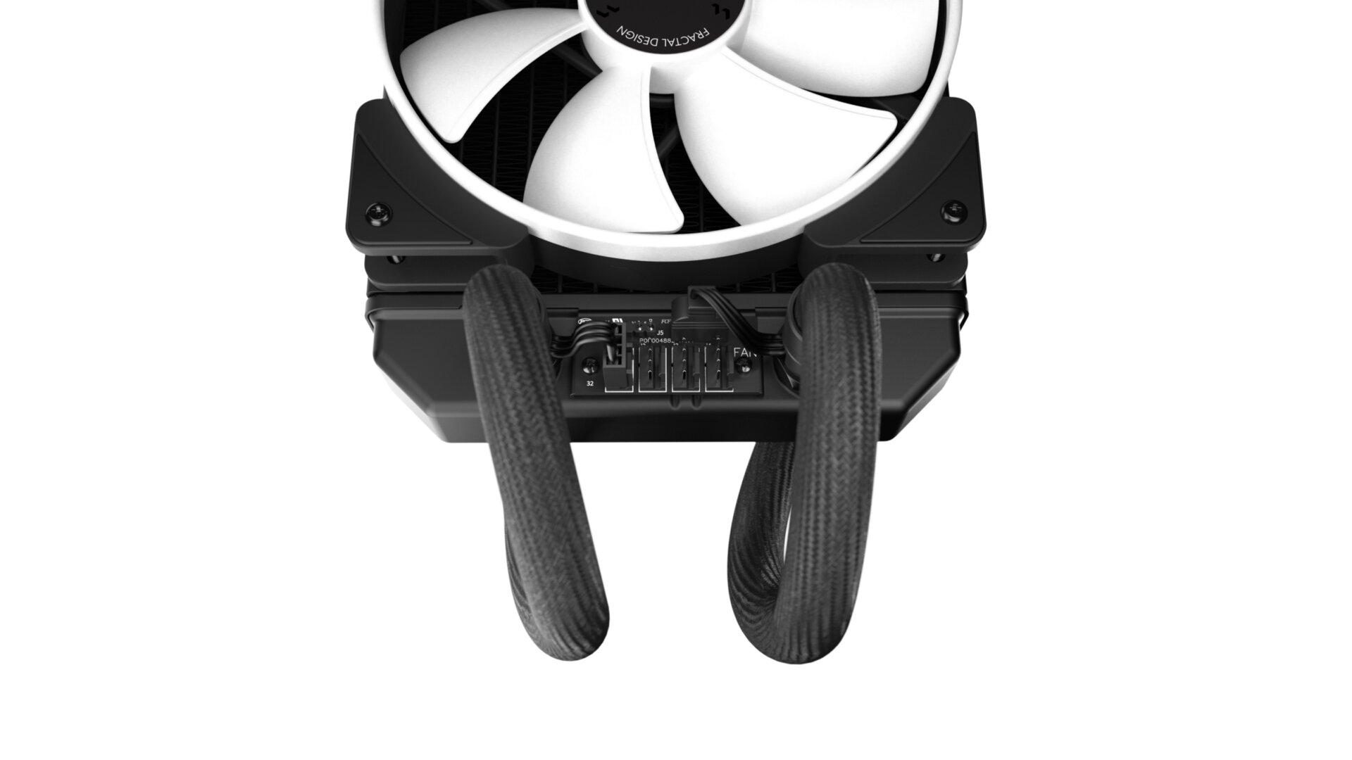 Fractal Design Celsius+ - der Lüfter-Hub direkt am Radiator