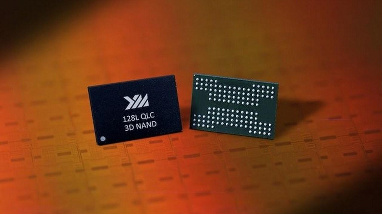 YMTC: Chinas Speicherjüngling protzt mit 128-Layer-QLC-NAND