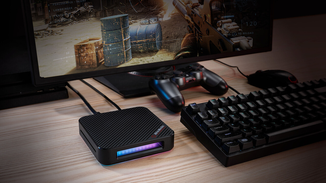 AVerMedia Live Gamer BOLT: Capture-Box für 4K60 HDR oder Full HD mit 240 FPS