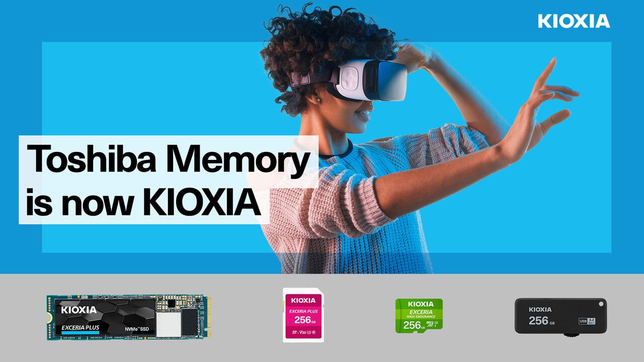 Toshiba war einmal: Consumer-Produkte von Kioxia mit neuem Gesicht