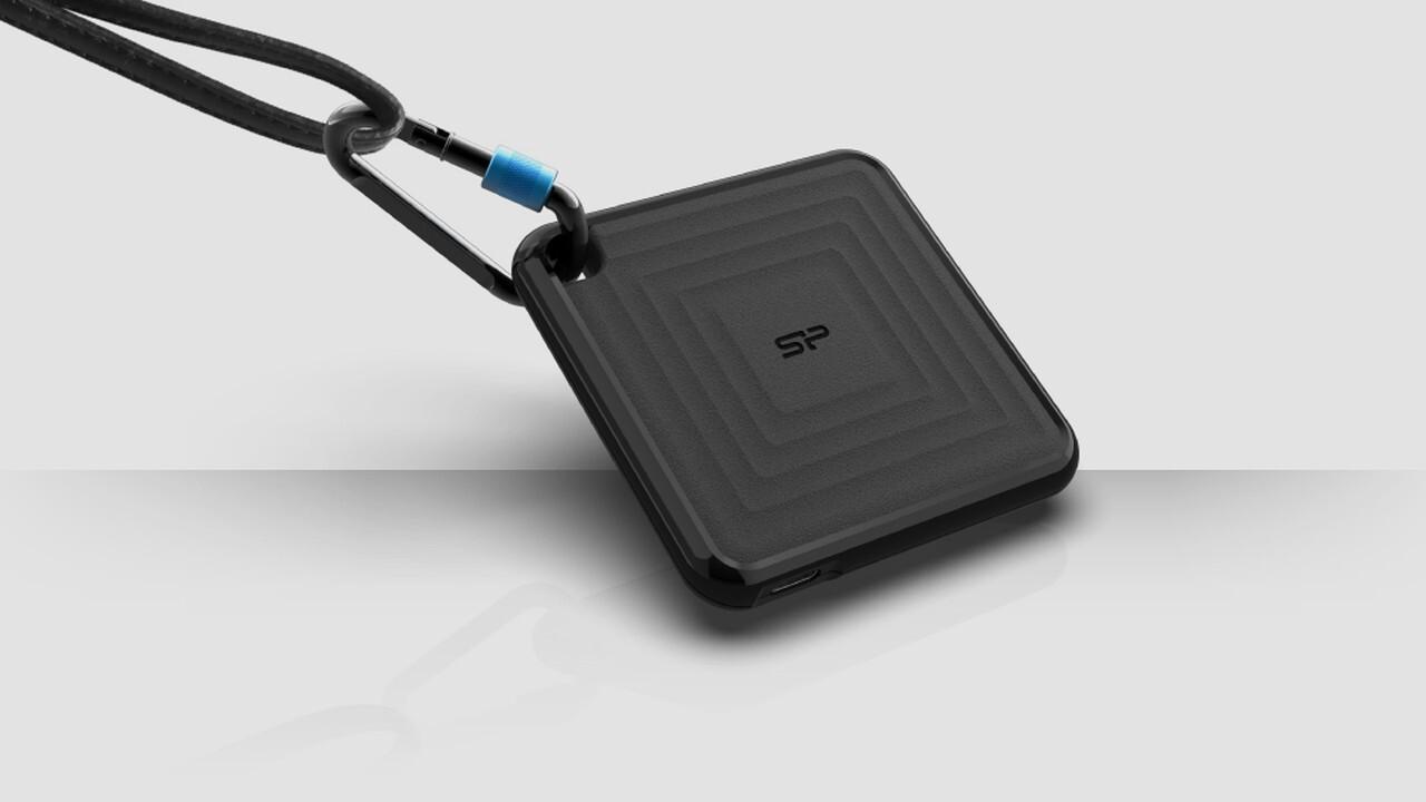 Silicon Power PC60: Flache externe SSD nutzt USB 3.2 Gen 2 nicht aus