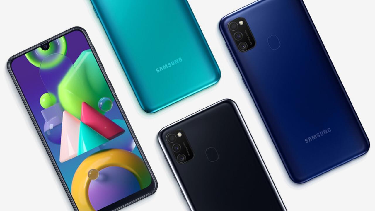 Galaxy M21: Samsung bringt Smartphone mit 6.000mAh für 219Euro