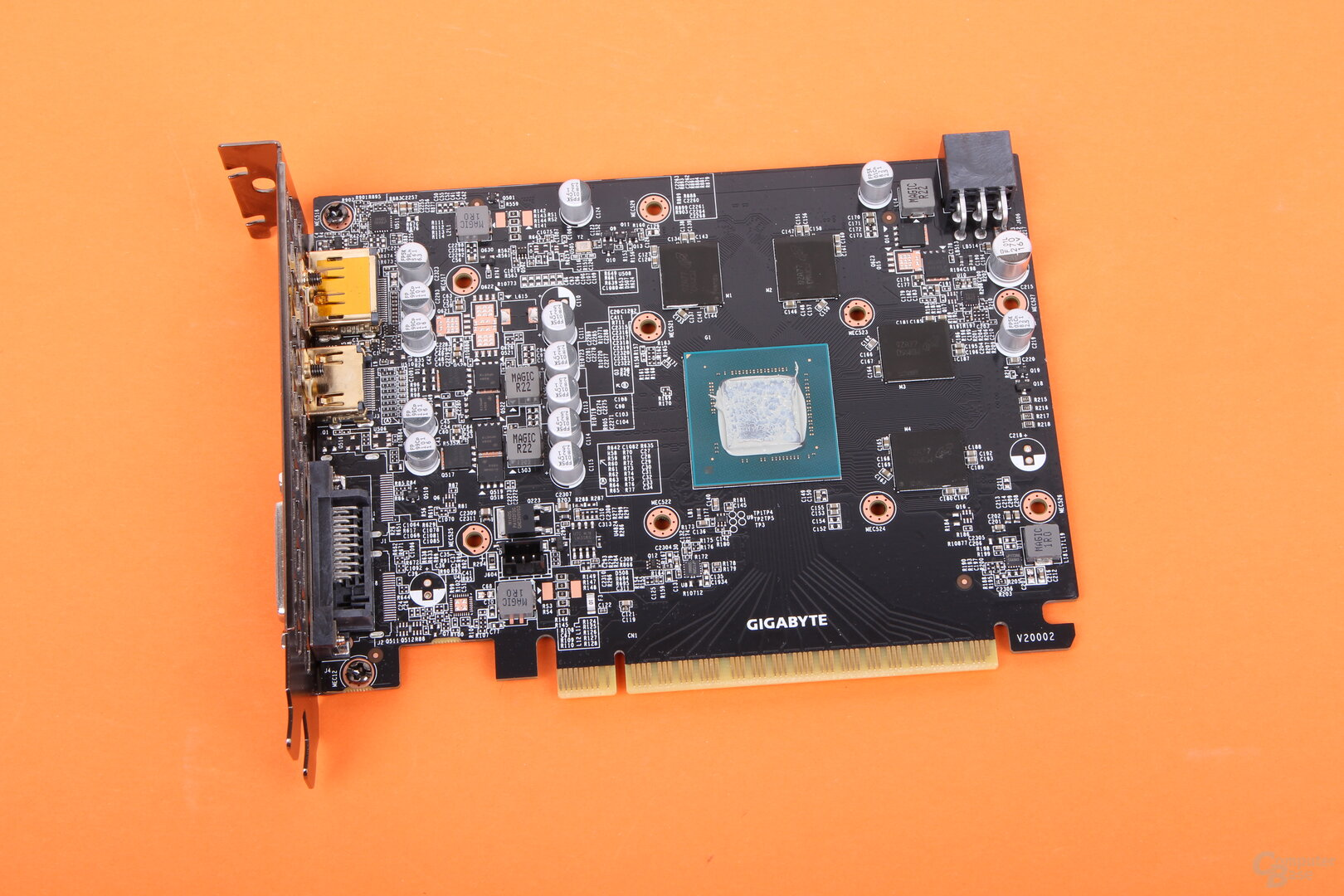Die Gigabyte GeForce GTX 1650 GDDR6 WindForce OC ohne Kühler