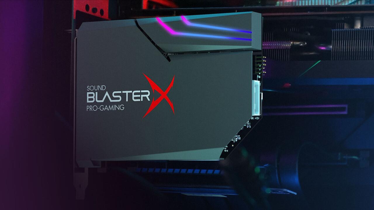Sound BlasterX AE-5 Plus: PCIe-Soundkarte zwischen AE-5 und AE-7 für 160 Euro