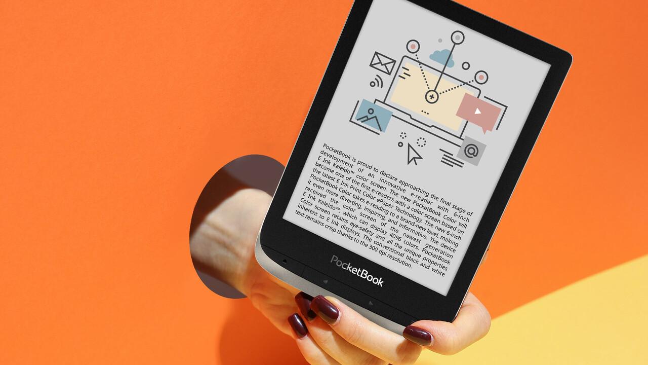PocketBook Color: E-Book-Reader mit Farbdisplay ab Herbst