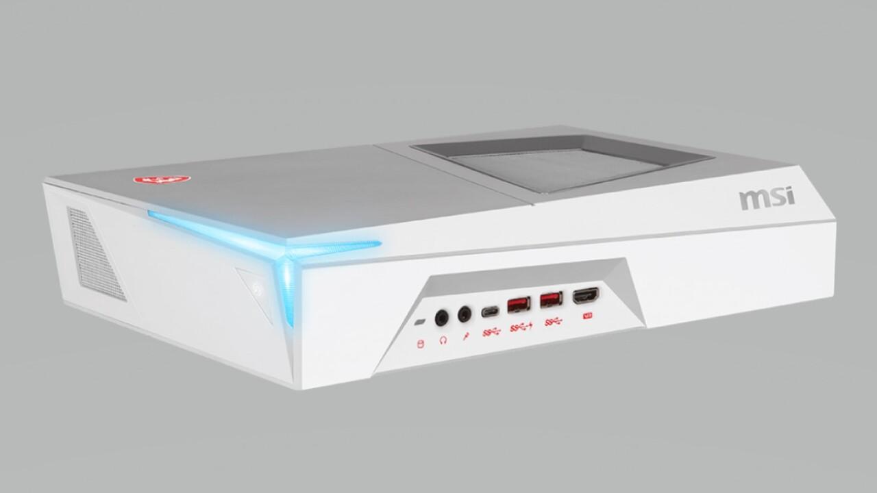Kompakter Desktop-PC: MSI Trident 3 Arctic wechselt auf Coffee Lake und Turing