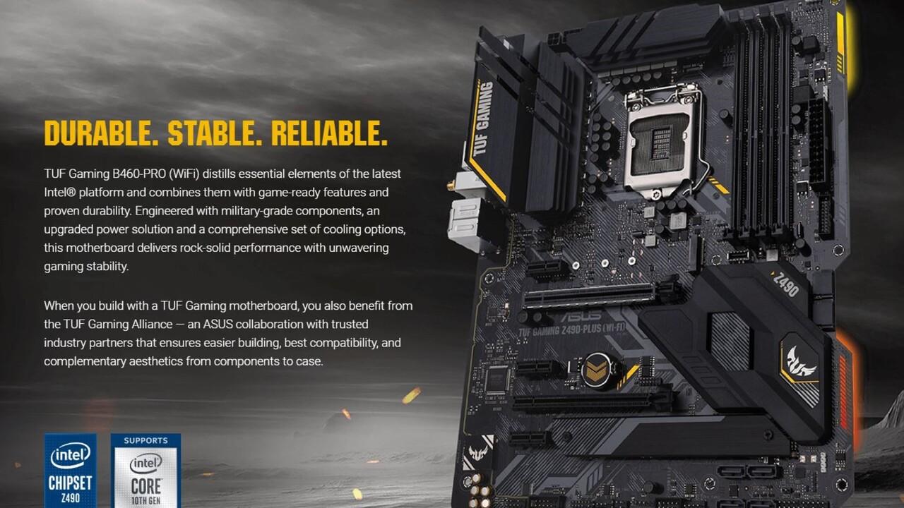 Mainboards mit Z490-Chipsatz: Bilder des TUF Gaming Z490 und Prime Z490 aufgetaucht