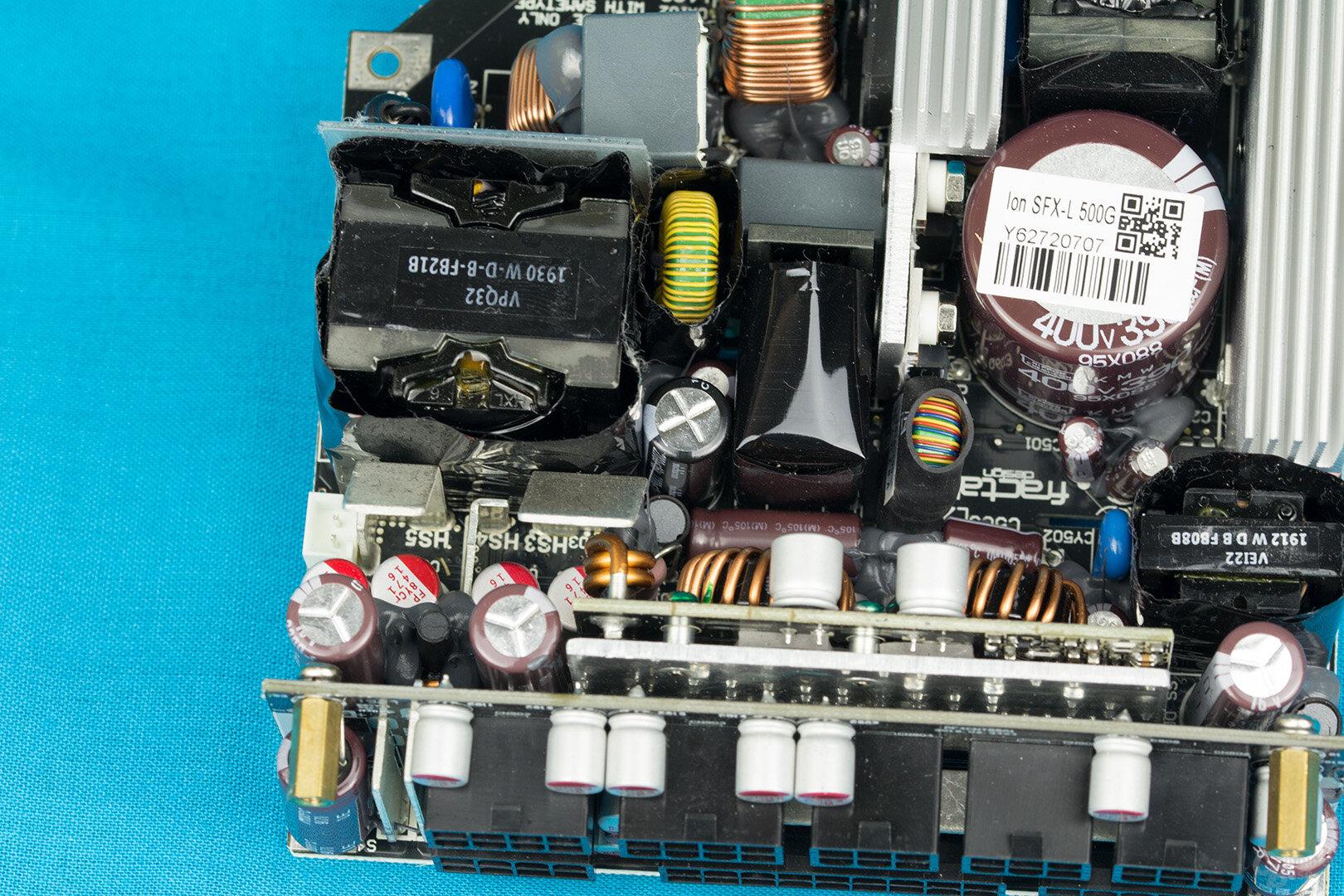 Fractal Design Ion SFX-L 500W Gold – Sekundärseite