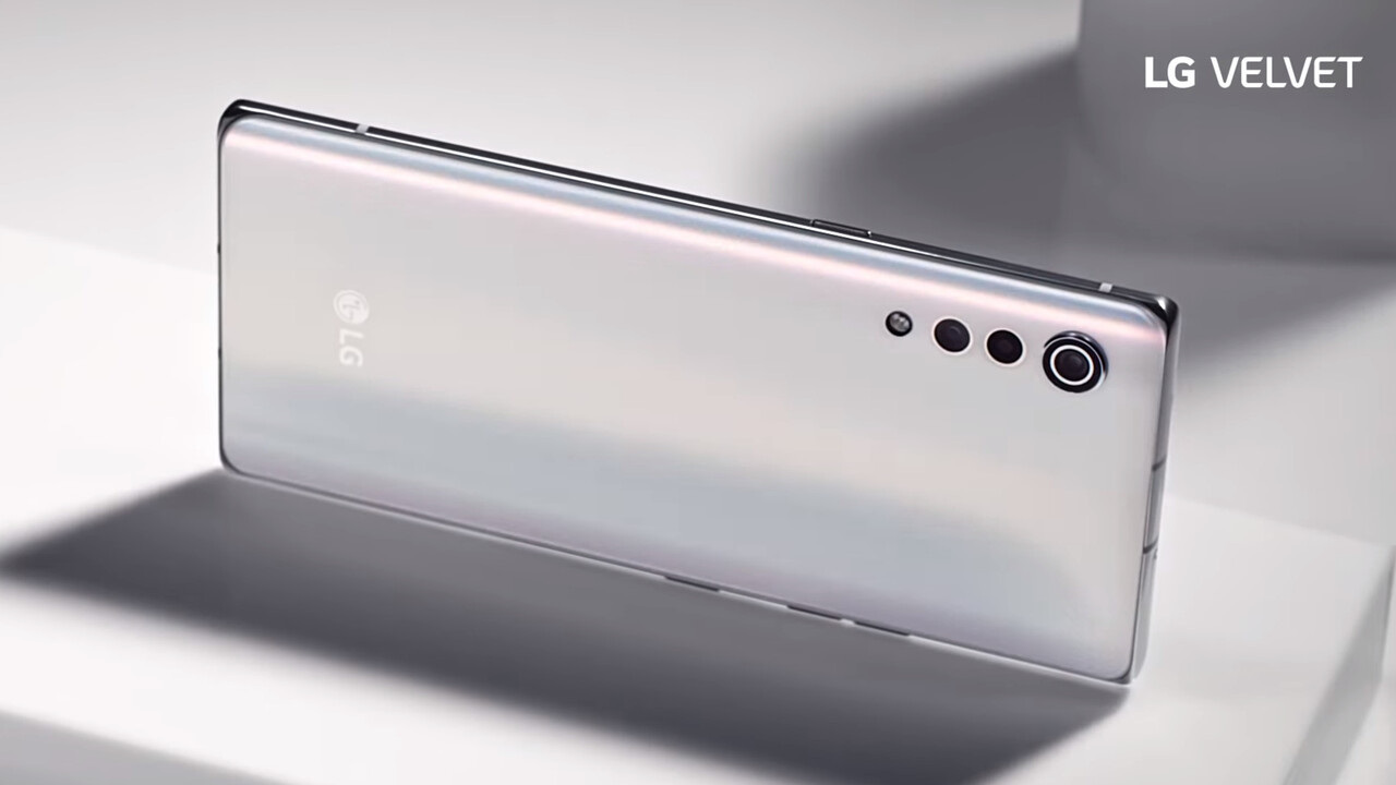 Velvet: LG zeigt sein erstes neues Smartphone nach der G-Serie