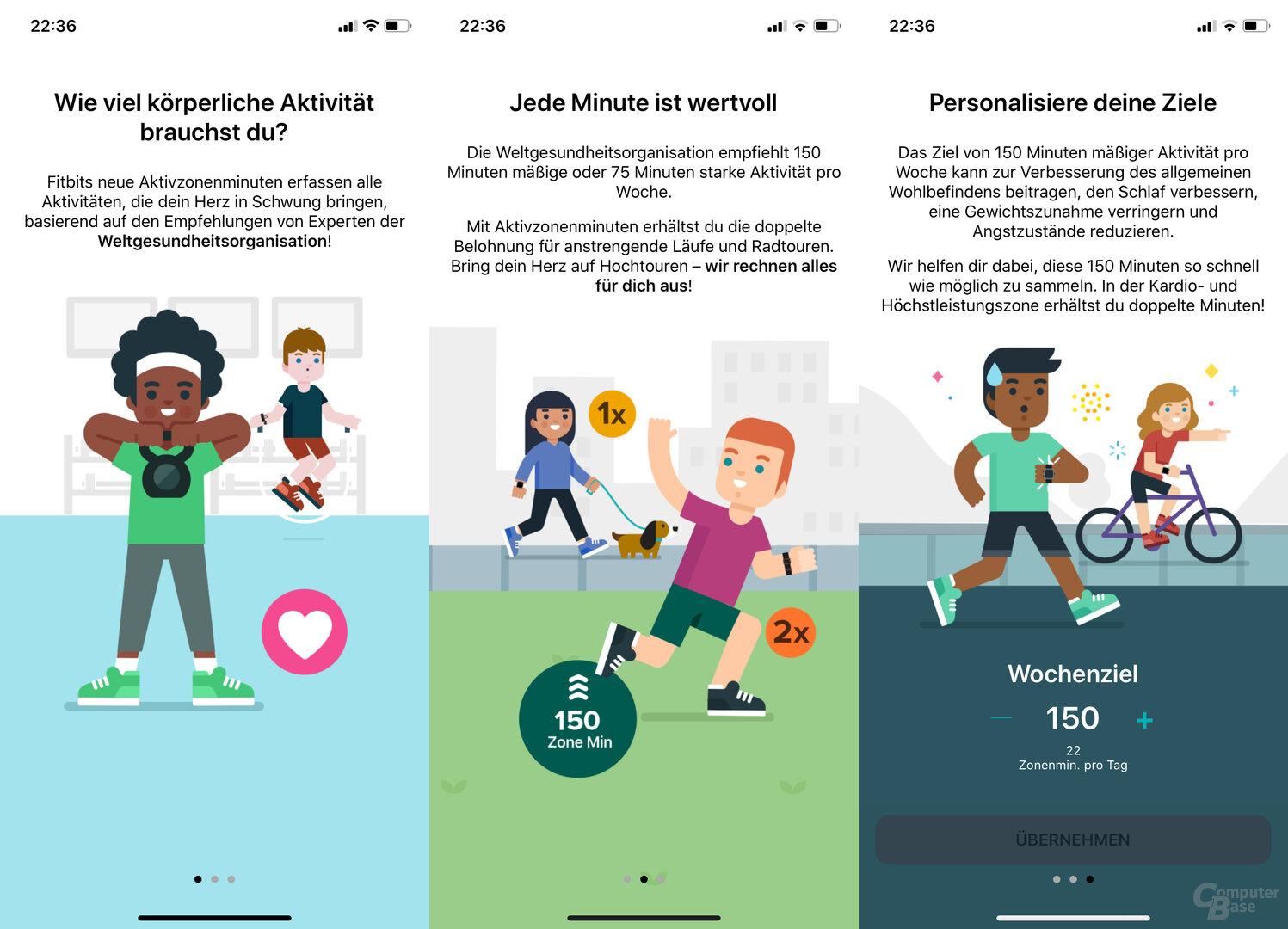Fitbit Charge 4 im Test: Erläuterungen zu den neuen Aktivminuten