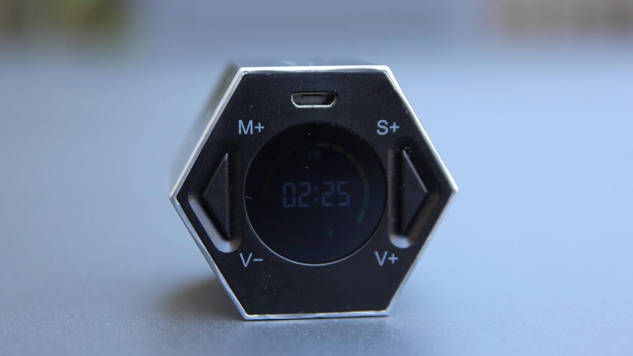 TickTime: Timer mit Lagesensor und Display im Ersteindruck