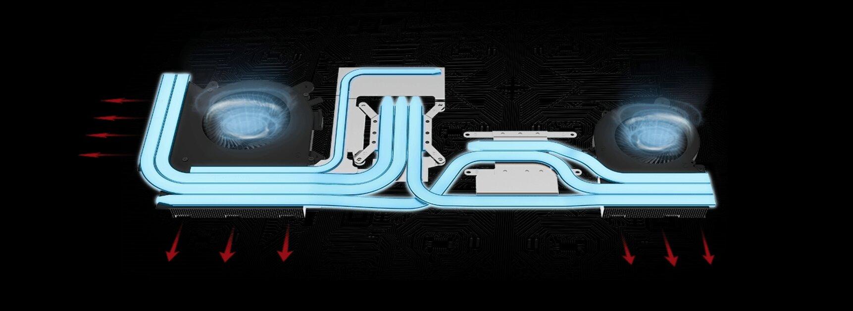 MSI Bravo 15 - حل التبريد (Cooler Boost 5)