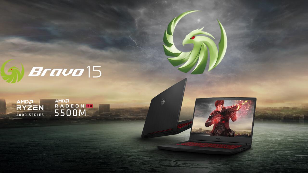 MSI Bravo 15 und 17: Spieler-Notebook wird mit Renoir und Navi schlanker
