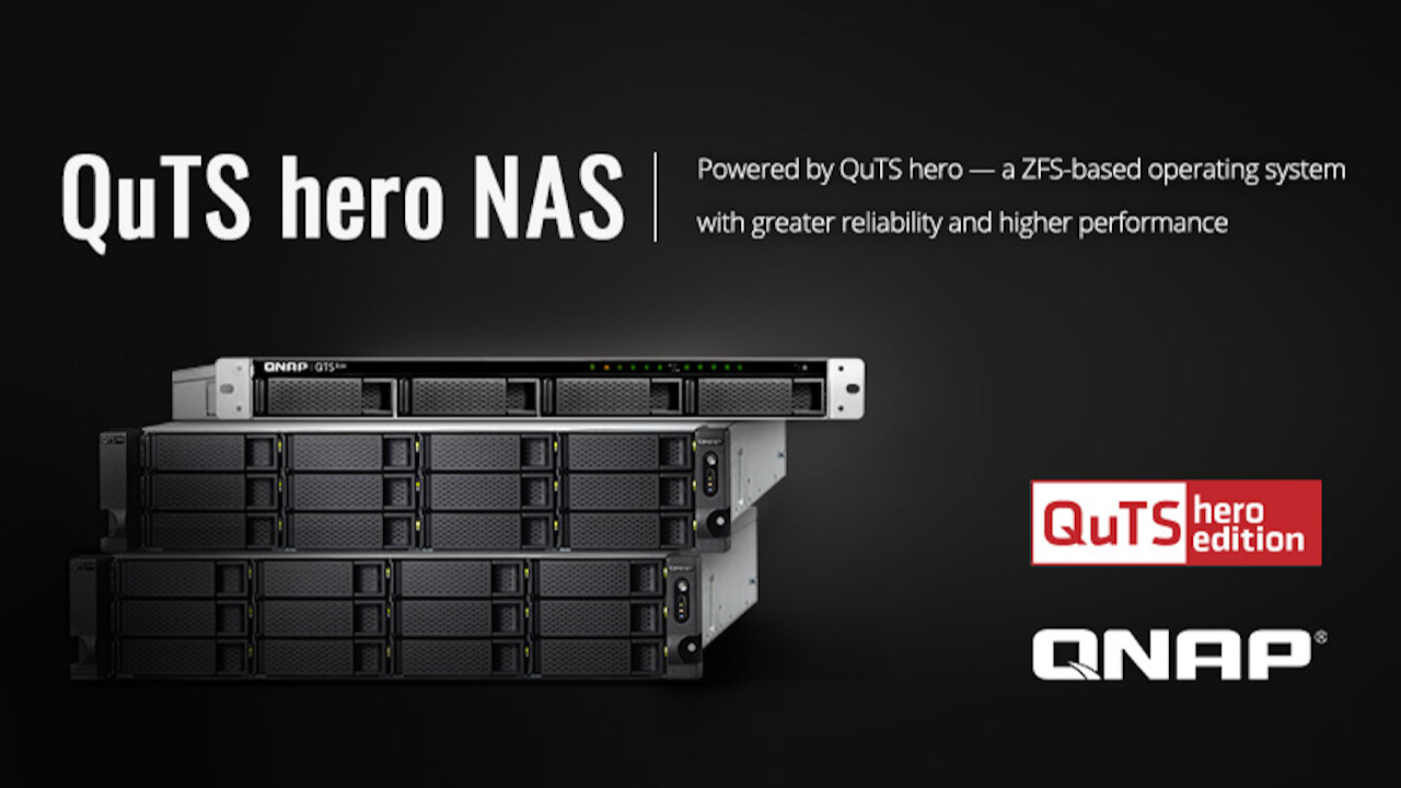 NAS: QNAP bringt ZFS-basiertes Betriebssystem QuTS hero