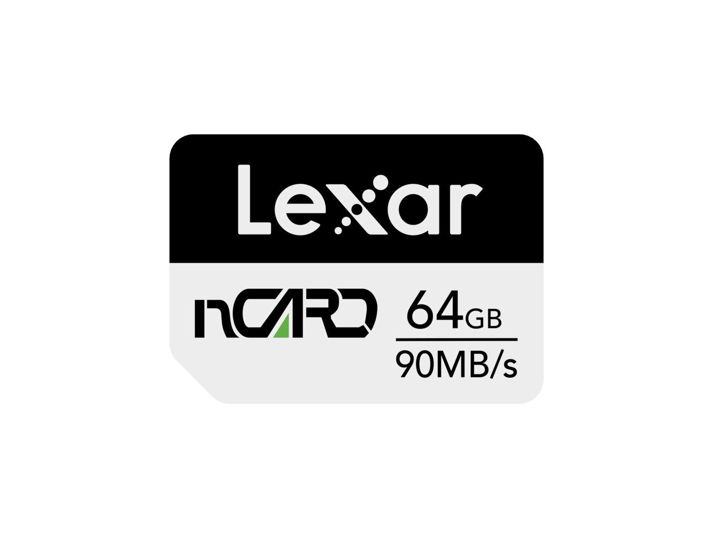 Lexar NM Card mit 64GB