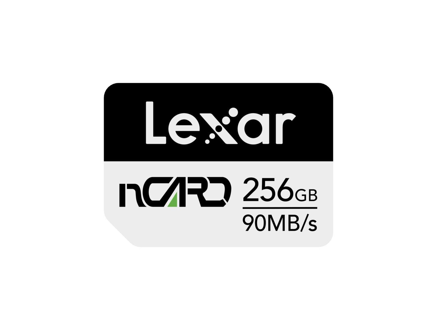 Lexar NM Card mit 256GB