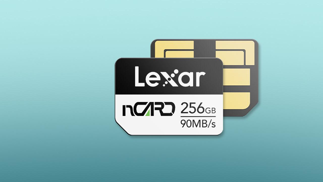 NM Card: Lexar bietet Speicherkarten für Huawei-Smartphones an