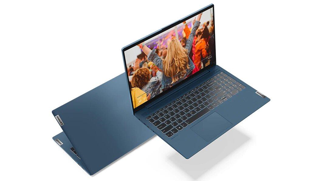 Das Lenovo IdeaPad 5 (15) mit AMD Renoir in Aquamarinblau