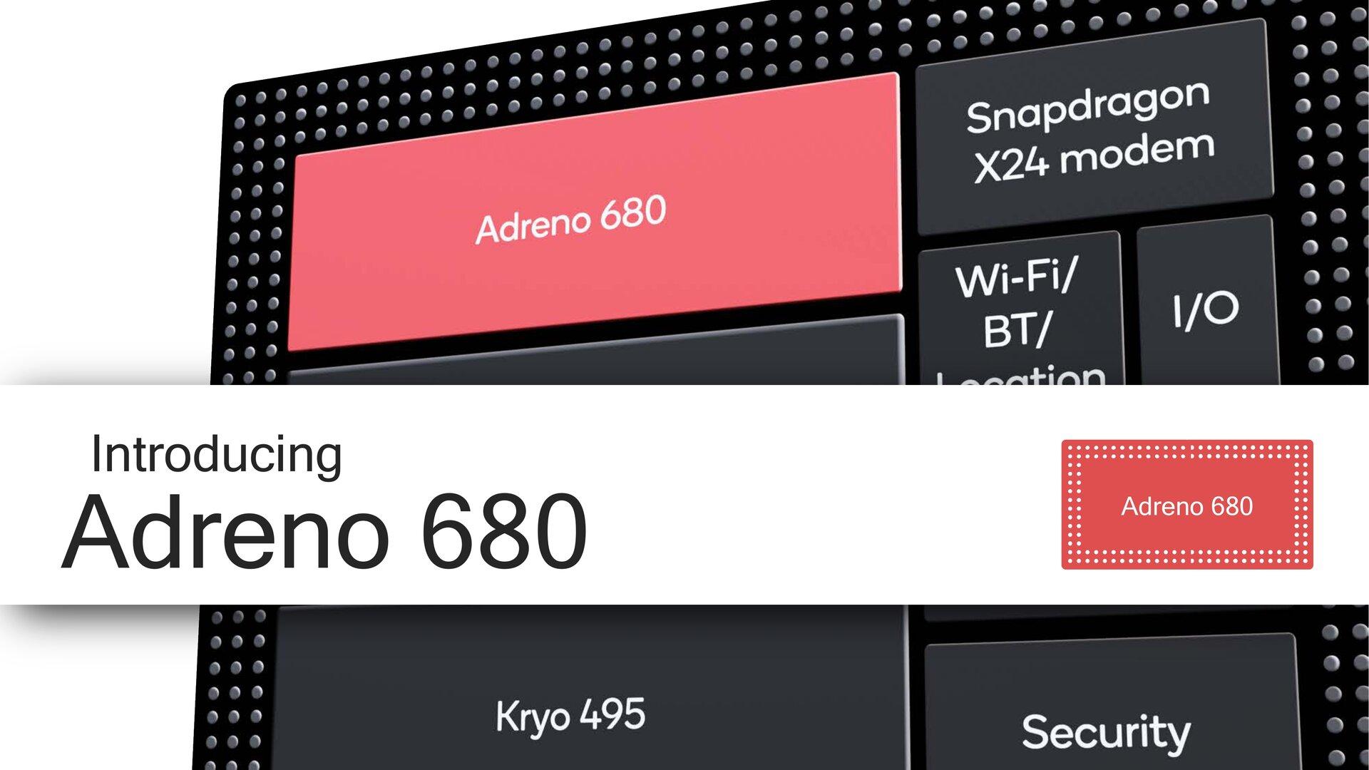 Adreno 680 im Snapdragon 8cx